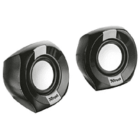 Altavoz - Trust Polo Compact 2.0, 8W, 2.0 ch, Conjunto, Alámbrico, Negro