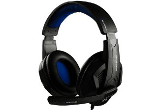 Auriculares gaming - G-Lab KORP100, Diadema, Micrófono, Negro