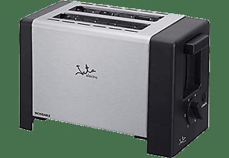 Tostadora - Jata TT607, Acero inoxidable, capacidad para 2 tostadas, centrado automático del pan
