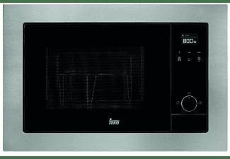 Microondas integrable - Teka MS 620 BIS, 20L, 700W, Grill, Negro, Acero inoxidable