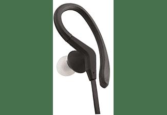 Auricular con cable - ISY IIE-1401, Sport, Soporta humedad, Micrófono integrado, Soporte flexible