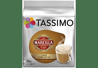 Cápsulas monodosis - Tassimo Marcilla Café con Leche, 16 cápsulas