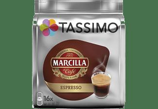 Cápsulas monodosis - Tassimo Marcilla Espresso, 16 cápsulas