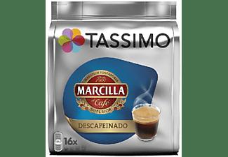 Cápsulas monodosis - Tassimo MARCILLA DESCAFEINADO, Café Largo, 16 cápsulas