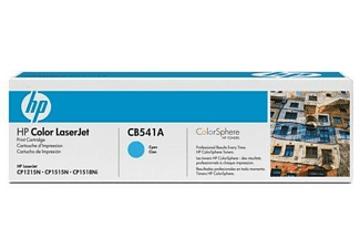 Tóner - HP 125A LaserJet, Cian, CB541A