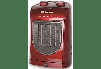 Calefactor cerámico - Orbegozo CR 5036 Potencia 1800W, Control ajustable de temperatura,