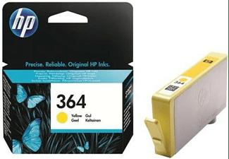 Cartucho de tinta - HP 364 Amarillo, CB320EE