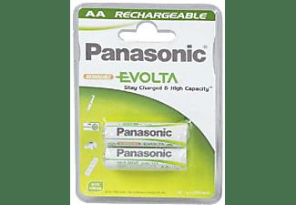 Pilas AA - Panasonic P 6 (2050 MAH) Evolta, recargables, 2 uds