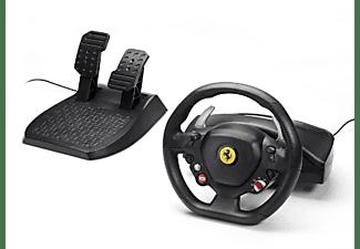 Volante - Thrustmaster Ferrari 458 Italia, compatible con PC y XBOX 360, interruptor de 2