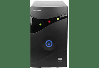 SAI - Woxter 650 VA, microprocesador, display LED, alarma acústica, autonomía 8-15 minutos, color