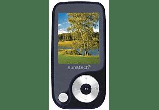 "Reproductor MP4 - Sunstech Thorn, 4GB, Negro, pantalla 1.8"", FM"