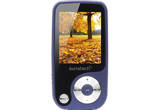 "MP4 - Sunstech Thorn 4GB, Azul, pantalla 1.8"", FM"