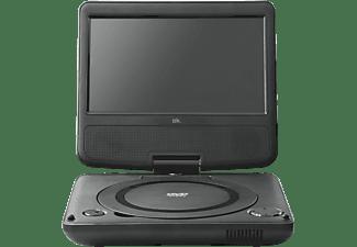 """DVD portátil - OK OPD720, 7"""", 800 x 480p, USB, Negro"""