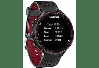 Reloj deportivo - Garmin Forerunner 235, Negro, GPS, Connect IQ, Control de calorías, Pulsómetro