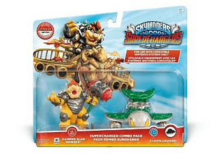 Pack - Skylanders SuperChargers - Slam Bowser + Clown Cruiser