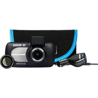 NEXTBASE Deluxe Bundle: 312 Dashcam + Case + Polarisierungsfilter + Dual USB Dashcam Full HD, 6,9 cmDisplay