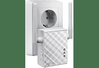 Repetidor WiFi - ASUS RP-N12, WiFi N300, Puerto LAN, WPS. 3 Funciones: Repetidor/Punto de acceso/Bridge