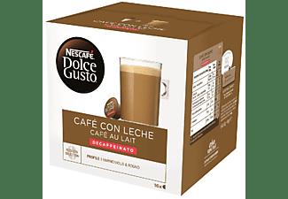 Cápsulas monodosis - Dolce Gusto Café con leche Decaffeinato, 16 cápsulas