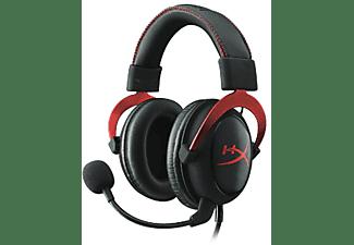 Auriculares gaming - Kingston HiperX cloud II, microfono, rojo