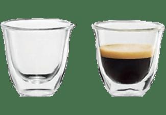Set de 2 tazas - De Longhi EXPRESSO, tazas de café, cristal, 60 Ml
