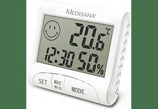 Estación meteorológica - Medisana HG-100, Higrómetro, Clase A, Blanco metalizado