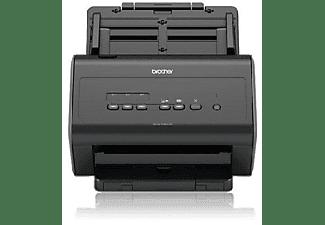 Escáner - Brother ADS-2400N 1200 x 1200 ppp, 30 ppm, Doble cara automático, Escanea a FTP, Negro