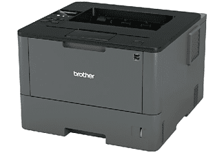 Impresora láser Monocromo - Brother HLL5200DW DUPLEX, WiFi, blanco y negro