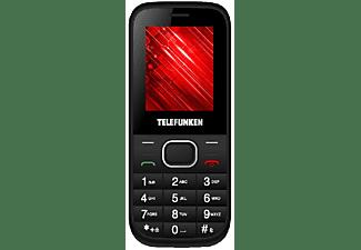 Móvil - Telefunken TM9.1 Classy, Dual Sim, Bluetooth, Cámara 0.3MP, Negro