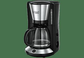 Cafetera de goteo - Russell Hobbs 24010-56, 1.25 L, 10 tazas, Negro