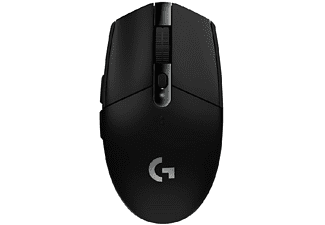 Ratón gaming - Logitech G305 Lightspeed, 12000 ppp, Inalámbrico, Negro
