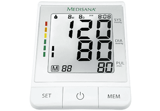 Tensiómetro - Medisana BU 530 Connect, Para antebrazo, Indicador arritmias, Bluetooth