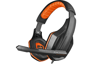 Auriculares Gaming - Ardistel Blackfire BFX-10 Stereo Gaming Headset, Para PS4, PS5, Negro