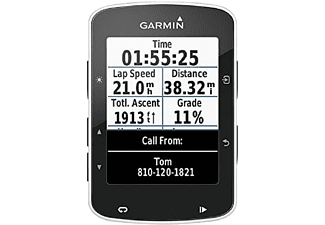 "Ciclocomputador - Garmin Edge 520, LCD 2.3"", GPS, Bluetooth, Negro"