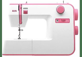 Máquina de coser - Alfa STYLE 20 10 Puntadas, Luz Led, 70 W, Blanca