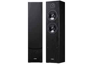 Torre de sonido estéreo - Yamaha NS-F51, 2 vías Bass Reflex, Negro