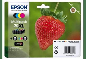 Pack Cartucho de tinta - Epson C13T29964022 Fresa, 29 cartuchos XL, CMYK