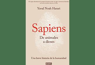 De Animales A Dioses. Sapiens (DEBATE) - Yuval Noah Harari - Tapa blanda