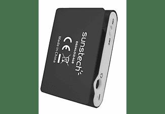 Reproductor MP3 - Sunstech Dedalo III, 4GB, 4h Autonomía, Radio FM, Negro