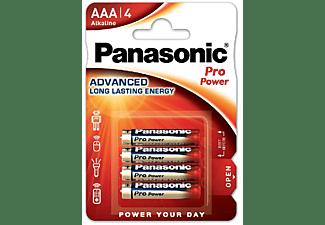 Pilas AAA - Panasonic LR03 Pro Power, 1.5 V, 4 uds