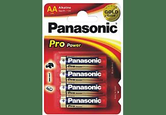 Pilas AA - Panasonic LR6 Pro Power, 4 uds