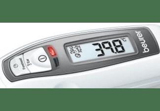 Termómetro - Beurer FT 65 Digital, Medición en oído y frente, 10 memorias, Desconexión