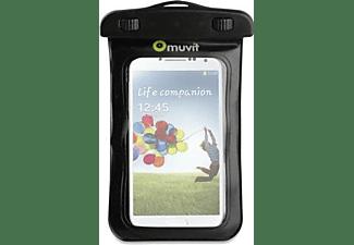"""Funda acuática - Muvit MUCUNWP0001, Impermeable, Para smartphones de hasta 5"""""""