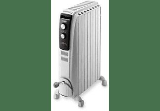 Radiador - DeLonghi TRD40820 Sistema de aceite, Potencia 2000W,Termostato de seguridad