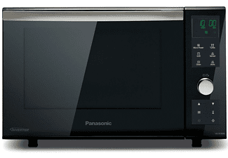 Horno microondas - Panasonic NN-DF 383BEPG 23 litros, Grill, 2 salidas de cocción