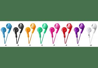 Auriculares botón - JVC HA-FR160 B, Negro