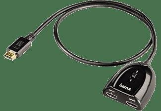Cable adaptador - HAMA 122224, HDMI Swicher 2X1