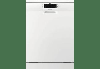 Lavavajillas - AEG FFB63700PW, 15 servicios, 3ª bandeja, Desconexión automática, 7 programas, Blanco