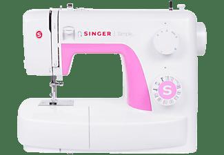 Máquina de coser - Singer Simple 3223, Brazo libre, Porta carrete horizontal, Blanco