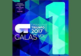 OT Operación Triunfo 2017 - Las Galas (Volumen 1) - CD + Póster