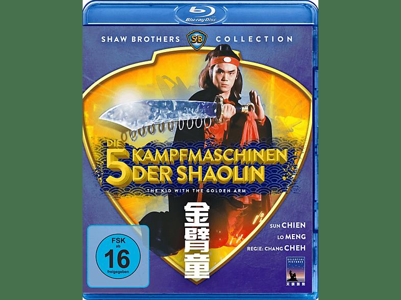 Die 5 Kampfmaschinen der Shaolin - The Kid With The Golden Arm [Blu-ray]